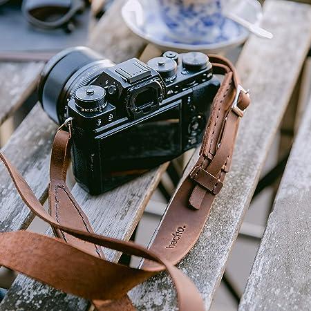 Olympus Css S119l Premium Trageriemen Aus Leder Braun Kamera