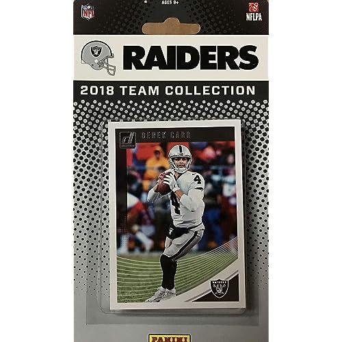 Oakland Raiders 2018 Donruss Factory Sealed NFL Football Complete Mint 13  Card Team Set with Derek fb895d400