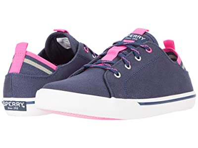 Sperry Kids Hy-Port (Little Kid/Big Kid) (Navy) Girl