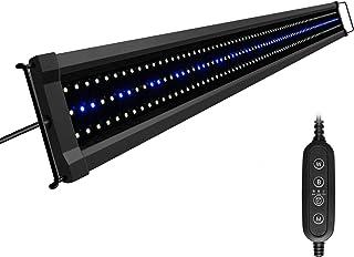 NICREW ClassicLED G2 Aquarium Beleuchtung, Steuerbar LED Lampe mit Timer, IP67..