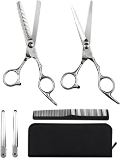 "Elfina Hair Cutting Shears, 6.0"" Professional Stainless Barber Scissors Set for.."