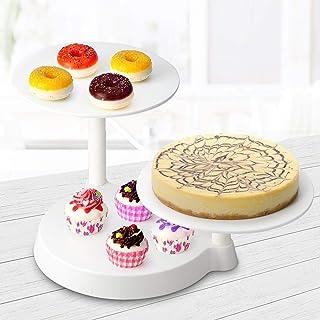 Uten - Soporte de 3 pisos para pasteles - Bandeja para tarta de boda