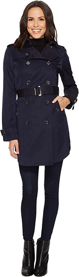 Double Breasted Belted Trench M722579B74
