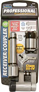 "Reese Towpower 7030600 Professional 5/8"" Chrome Receiver Lock and Coupler Lock"