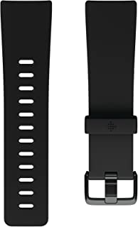 Fitbit Versa Family Accessory Band, Official Fitbit Product, Classic, Black, Large
