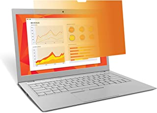 """3M Gold Privacy Filter for Full Screen 14"""" Widescreen Laptop with Comply Attachment System (GF140W9E)"""