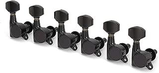 Gotoh Schaller-Style Knob Tuning Machines, 6-In-Line, Black