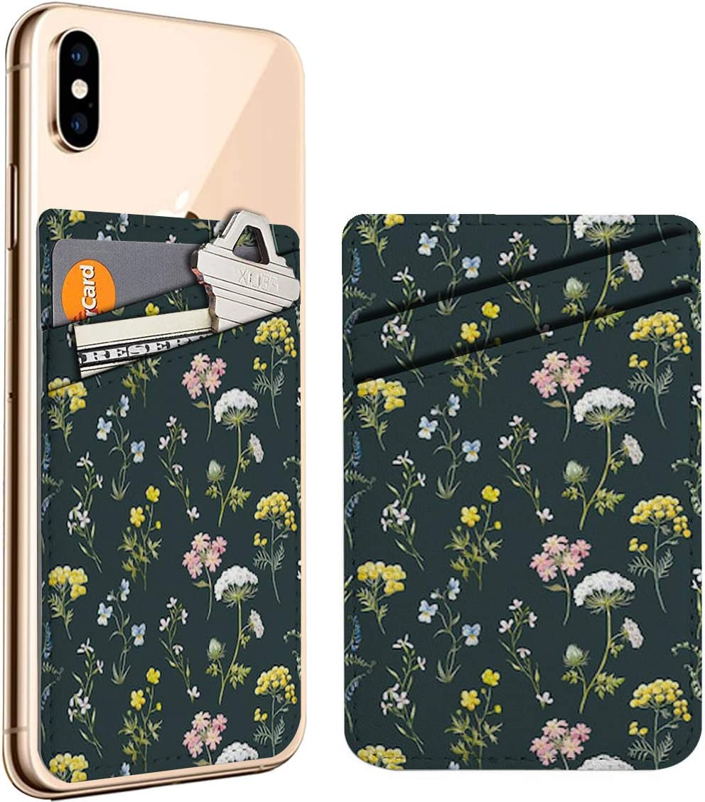 Gentle Watercolor Floral Detroit Mall Wildflowers Cell Phone On Regular store ID Cr Stick