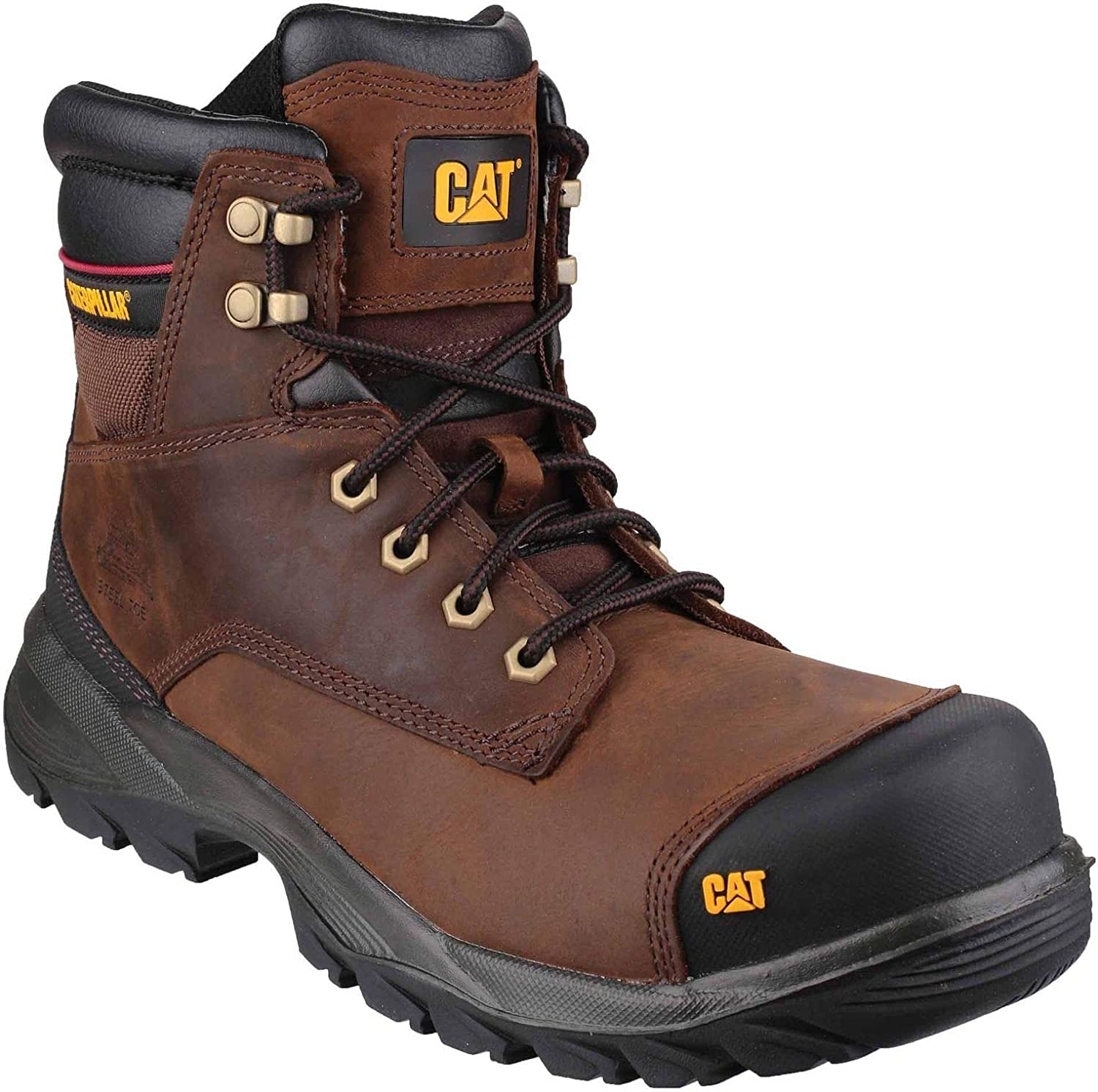 Cat Spiro Water Resistent Safety Boot bspringaaa Storlek 10