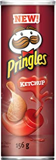 Pringles Potato Chips, Ketchup, 156 Grams/5.50oz {Imported from Canada}