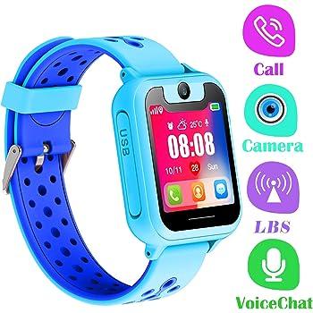 PTHTECHUS Telefono Reloj Inteligente LBS Niños: Amazon.es: Electrónica
