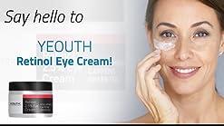 Amazon Com Retinol Eye Cream Moisturizer 2 5 From Yeouth Boosted