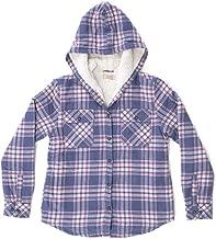 Boston Traders Girl's Hooded Shirt Jacket