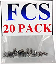 FCS Stainless Steel Fin Screws 20 Pack (20 Pack)