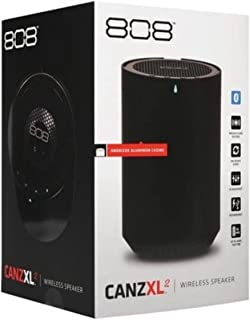 808 CANZ XL2 Wireless Speaker with USB Charging - Black
