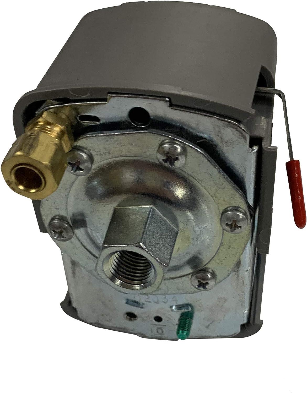 Pack of 4 - Square Finally popular brand D Compressor Switch Pressure Super intense SALE Air 135-175 PSI