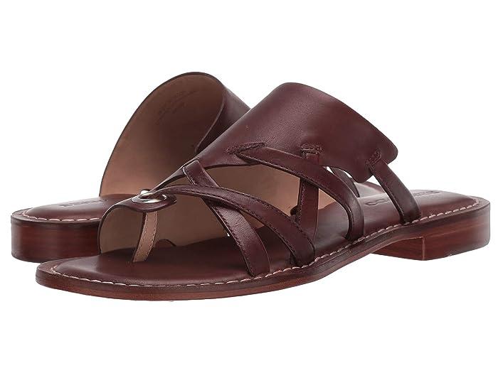 Bernardo  Tenley (Hot Chocolate Antique Calf) Womens Sandals