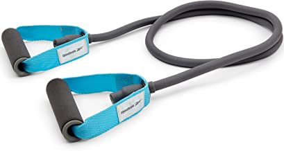 Reebok Ratb-11032Bl Heavy Resistance Tube, Gray And Blue