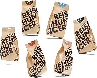 Reishunger Bio Kennenlernset Deluxe 6 x 600 g Die 6 beliebtesten Bio-Reissorten in einem Set - erhältlich in 200 g und 600 g
