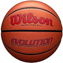 """كرة السلة من ويلسون إفلوشن للعب الداخلي، الرسمية (29. 5"""") - سكارليت"""