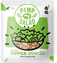 PIMP MY SALAD Vegan Superfood Seeds   Keto, Gluten Free, Paleo, Dairy Free   Crunchy Meal & Salad Toppings Made with Whole Food Ingredients   12 Single Serve Packets
