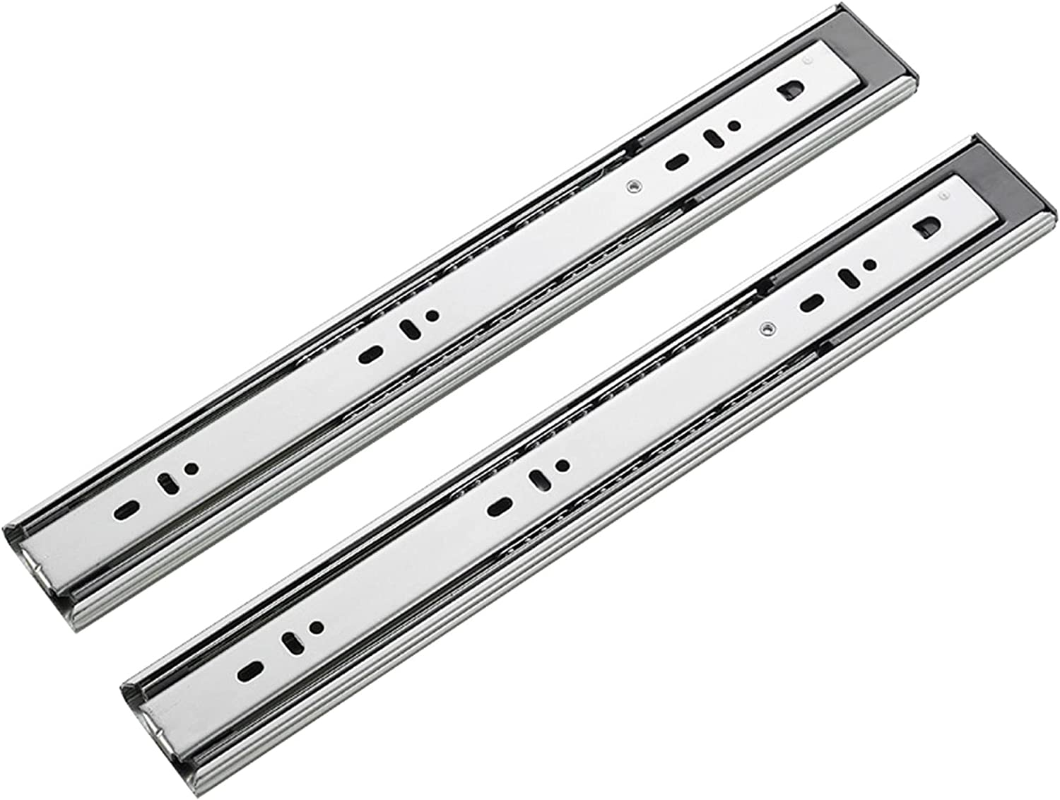 YPHD Drawer Slides Weekly Max 82% OFF update Rails Three-Section Close Bearing Soft