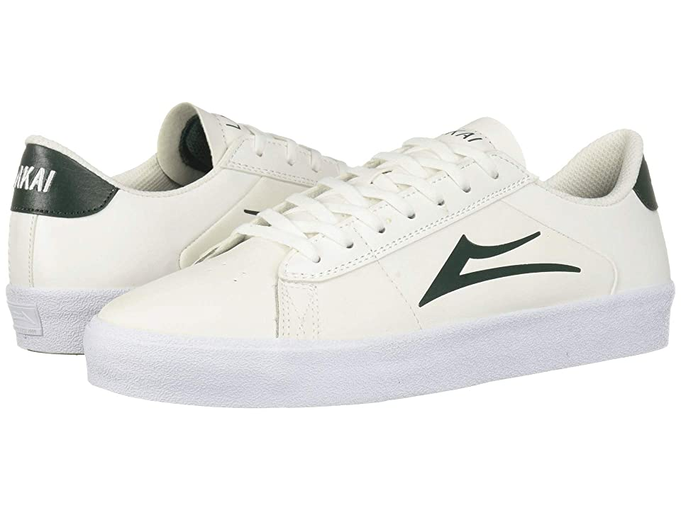 Lakai Newport (White/Pine Leather) Men