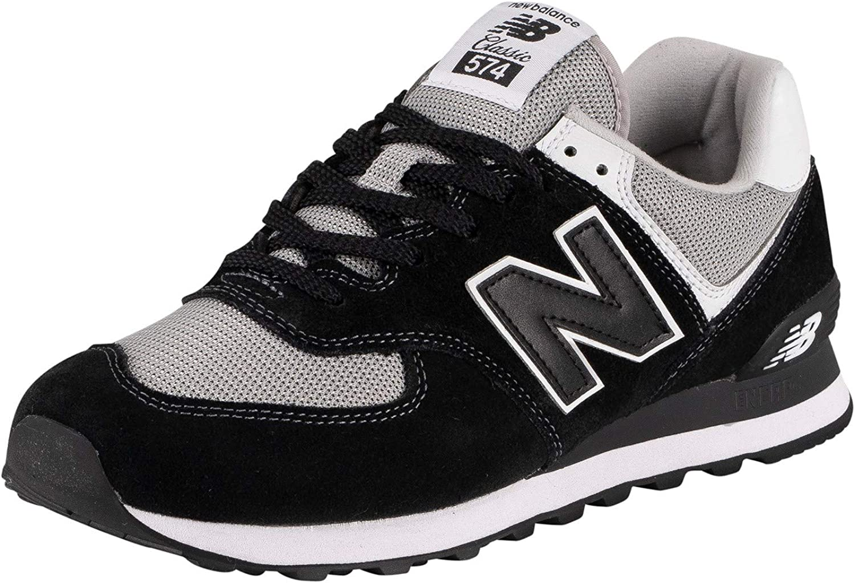 New Balance Men's ML574 Trainers, Black