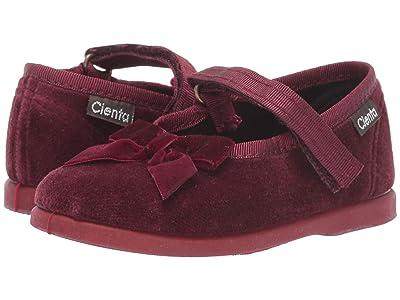 Cienta Kids Shoes 400024 (Infant/Toddler) (Burgundy) Girl
