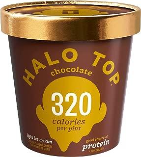 Halo Top Light Ice Cream, Chocolate, 16 Fl Oz (Frozen)