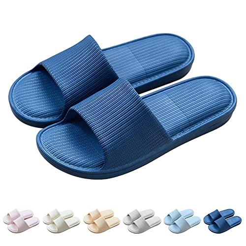 cfc2be8833c Paangkei Men Women Big Kid Comfortable Slide Sandal Slipper Bathroom Shower