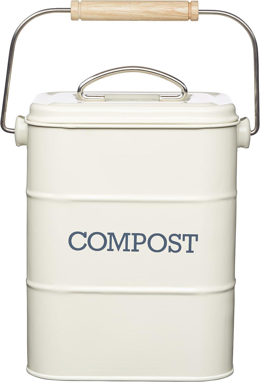 Kitchen Craft Living Nostalgia Super Special SALE held Steel Bargain litres-Antiq Compost 3 Bin