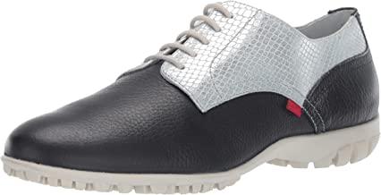 Marc Joseph New York Womens Golf Genuine Leather Made in Brazil Pacific Lace up Fashion Shoe Moccasin