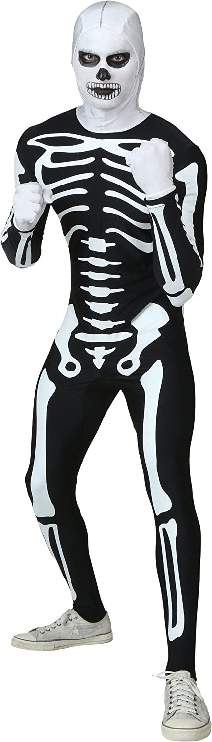 descuento de bajo precio Fun Costumes The Karate Kid Kid Kid Adult Authentic Skeleton Suit Medium  Más asequible