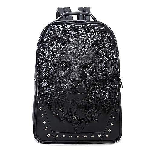 393c4bd61c 3D Print Animal Studded Backpack