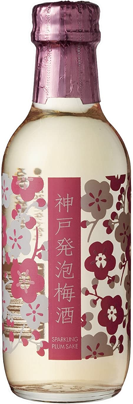 作物の中で中庭神戸酒心館 神戸発泡梅酒 [ 200ml ]