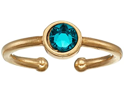 Alex and Ani December Birthstone Adjustable Ring (14KT Gold Plated) Ring