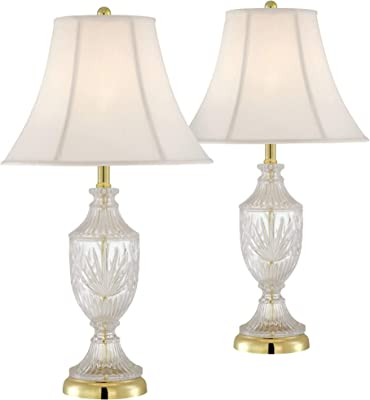 Montebello Antique Gold Mercury Glass Table Lamp