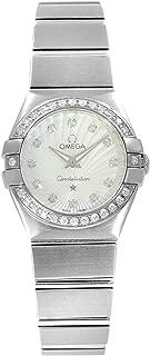 Constellation 123.15.24.60.55.002 24mm Steel Diamonds Luxury Watch