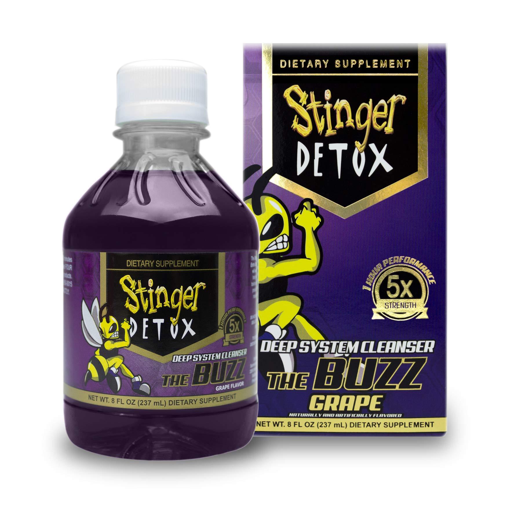 Stinger Detox Buzz Strength Grape