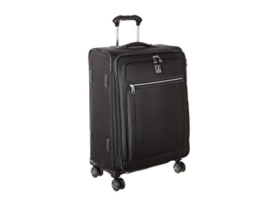 Travelpro Platinum(r) Elite 25 Expandable Spinner (Shadow Black) Luggage