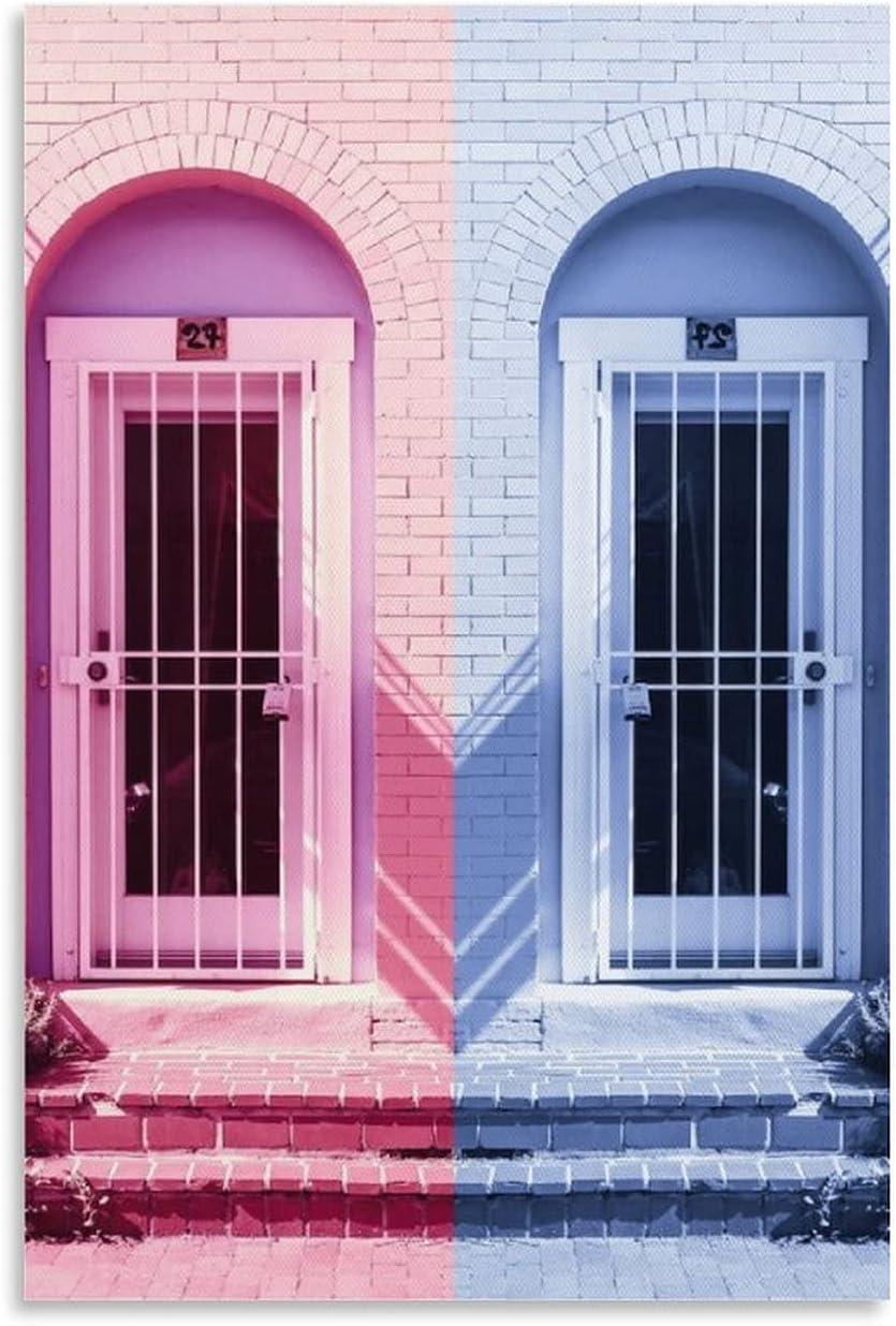 DENGNI Vintage Poster HJW Painting Doors Ranking TOP7 Decorative Canva overseas
