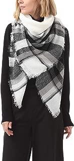 Soft Warm Tartan Plaid Scarf Shawl Cape Blanket Scarves Fashion Wrap