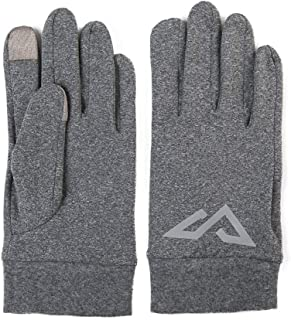 Unisex Non-Slip Winter Gloves Unisex Warm Screen Ski Cycling Riding Outdoor Fashion Grey L XL