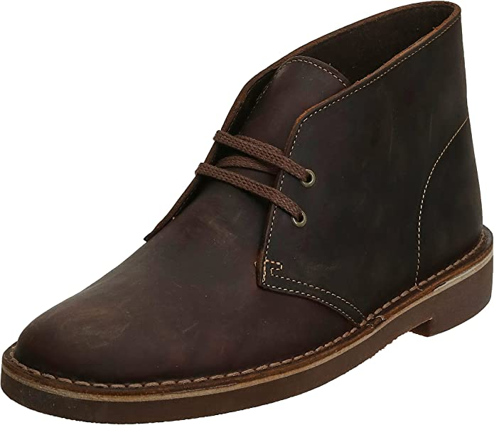 Men's 1950s Shoes Styles- Classics to Saddles to Rockabilly Clarks Mens Bushacre 2 Chukka Boot  AT vintagedancer.com