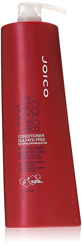 メダルデコラティブシンプルさJoico Color Endure Violet Conditioner Sulfate Free - 33.8 Oz by Joico [並行輸入品]