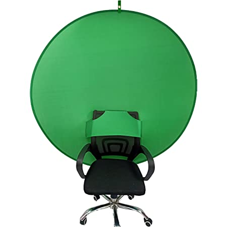 Amazon.com : Gen2 Collapsible Portable Webcam Background Chroma Key  Greenfor Video Chats, Zoom, Skype, Backdrop Video Calls, Chromakey  (58in×58in) : Electronics