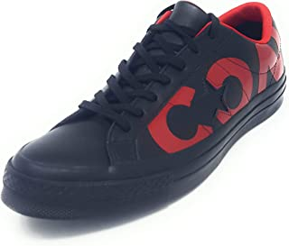 One Star Leather OX Black/Red/Black