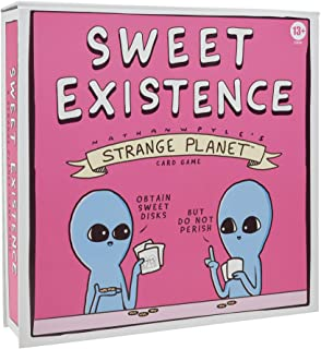 Hasbro Gaming Sweet Existence, A Strange Planet Family-Friendly Party Card Game Inspired by The Webcomic and Books by Nath...