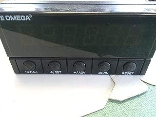 USED OMEGA DPF701-A 6-DIGIT RATEMETERS/TOTALIZER/PROCESS METER CU